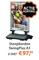 Stoepbord SwingPlus A1