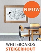 Whiteboards Steigerhout