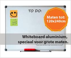 Whiteboard Aluminium